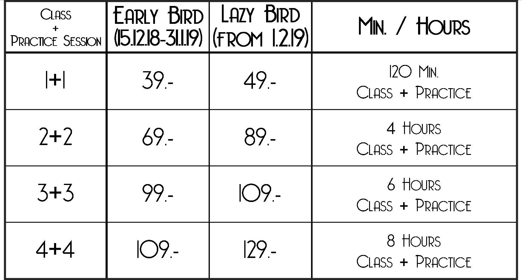 Prices LQ 6